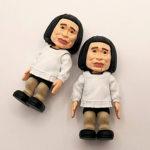 後2種類...「笑ってはいけない浜田コレクション」浜田ザルの首と浜田子ゴリラ
