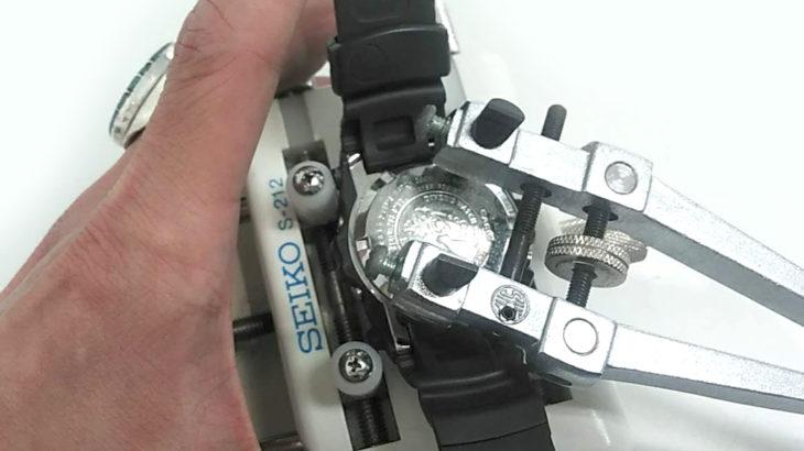 カシオ CASIO Gショック G-SHOCK フロッグマン FROGMAN BGW-100 時計電池交換
