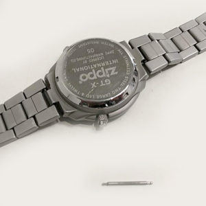 Zippo時計電池交換
