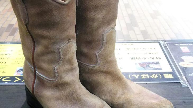 ブッテロブーツハーフソールかかと修理靴修理