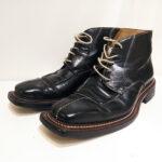 明石 靴修理 ステファノブランキーニ STEFANO BRANCHINI ビブラム ハーフソール かかと修理 靴修理 合鍵作製 時計 電池交換 のお店 プラスワン