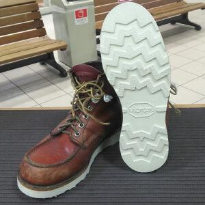 レッドウイングオールソール靴ブーツ