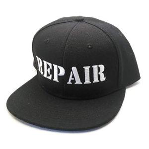 靴修理 キャップ 帽子 REPAIR ①