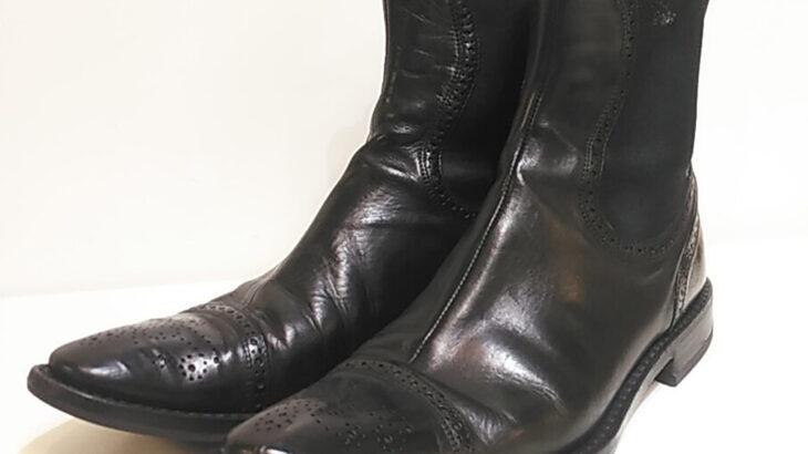 靴修理 ブーツ 修理 ドルチェアンドガッバーナ ブーツ ハーフソール! 靴修理 合鍵作製 時計 電池交換 のお店 プラスワン