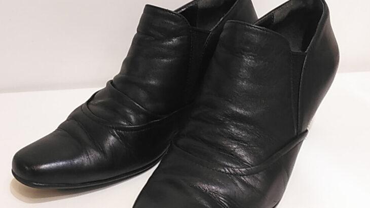 靴修理 レディース 婦人 ピンヒール かかとの修理 ハーフソール! 靴修理 合鍵作製 時計 電池交換 のお店 プラスワン