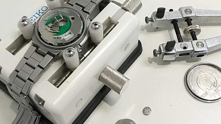 Zippo ジッポー 時計 電池交換