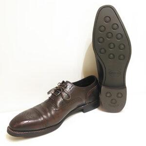 リーガル 紳士靴 シェットランド フォックス オールソール ハーフソール かかとの修理 ブーツ修理 スニーカー修理