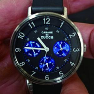 腕時計 電池交換 カバン ド ズッカ CABANE de ZUCCa