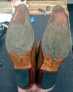 ウエスタンブーツ カウボーイブーツ 修理 靴修理