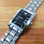 アルマーニ ARMANI 時計の電池交換880円~