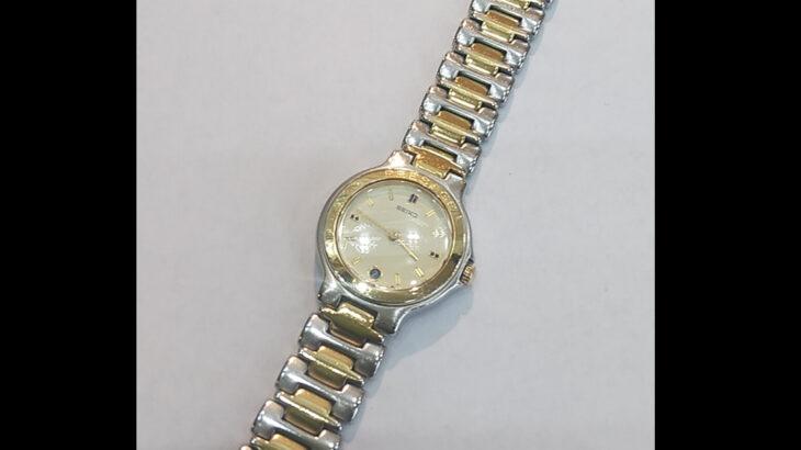 時計の電池交換修理オーバーホールSEIKOセイコーレディース腕時計PRESAGEプレサージュ