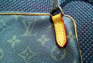 ルイ ヴィトン 財布修理 ファスナー交換 チャック修理 ファスナー交換 かばん バッグ 財布の修理 Bag repair