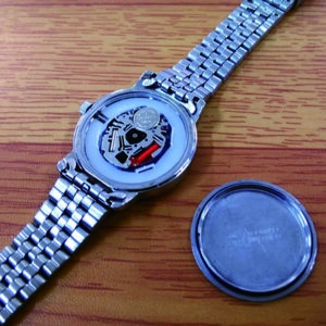 セイコー時計の電池交換