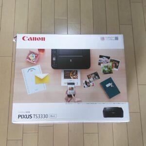 キヤノン Canon PIXUSTS3330BK [インクジェット複合機 PIXUS(ピクサス) TS3330 ブラック]¥6,600(税込)