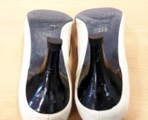 ピンヒールの修理 靴のかかとの修理
