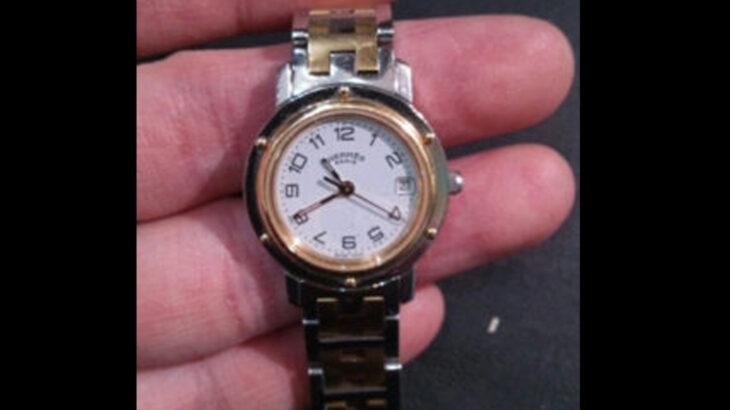 エルメス HERMES 腕 時計 電池交換 880円