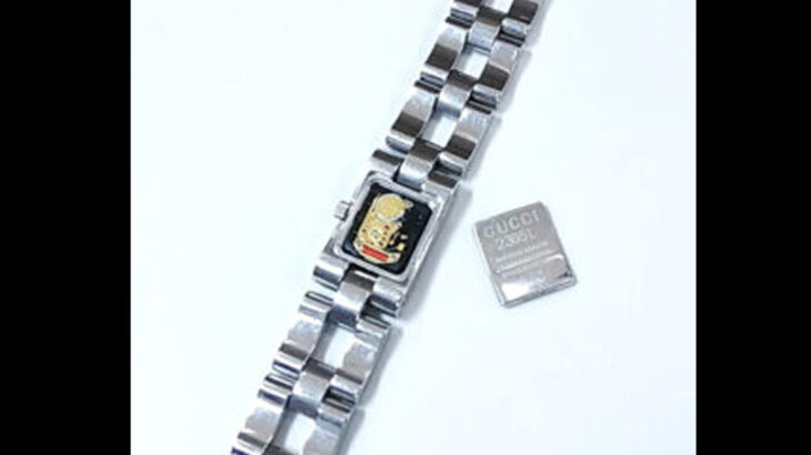 激安!グッチ GUCCI 腕時計電池交換880円~