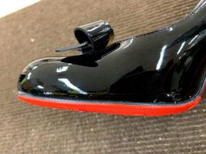 クリスチャンルブタンChristian LouboutinのヒールにVibramビブラムハーフソール靴修理