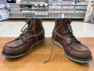 レッドウィング REDWING アイリッシュセッター IrishSetter オールソール 靴修理 ブーツ修理