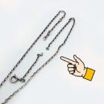 ネックレスが切れた!ライオンハートLION HEART タロット ネックレス修理 ジュエリー修理 アクセサリー修理 指輪のサイズ直し インテント コインネックレス