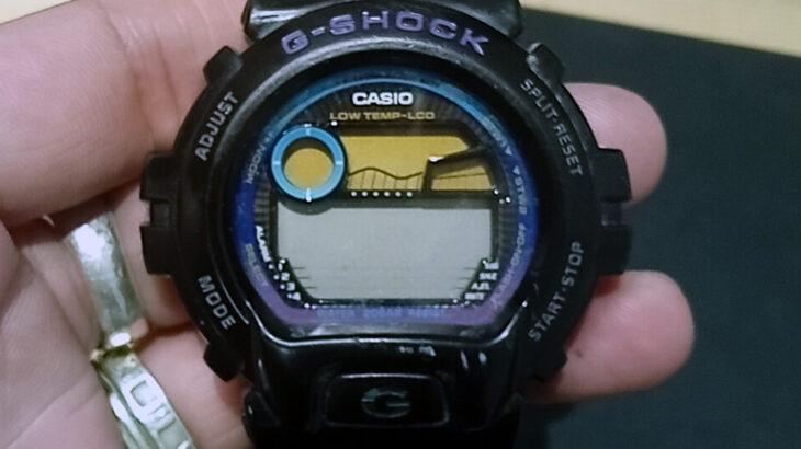カシオ ジーショック CASIO G-SHOCK激安時計の電池交換