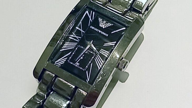 アルマーニ Armani 時計の電池交換