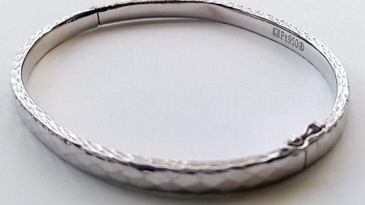 プラチナブレスレットの修理